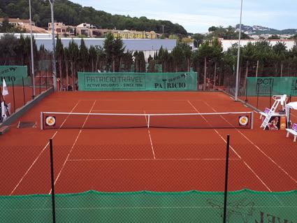 Remodelación pistas de tenis de Tierra Batida